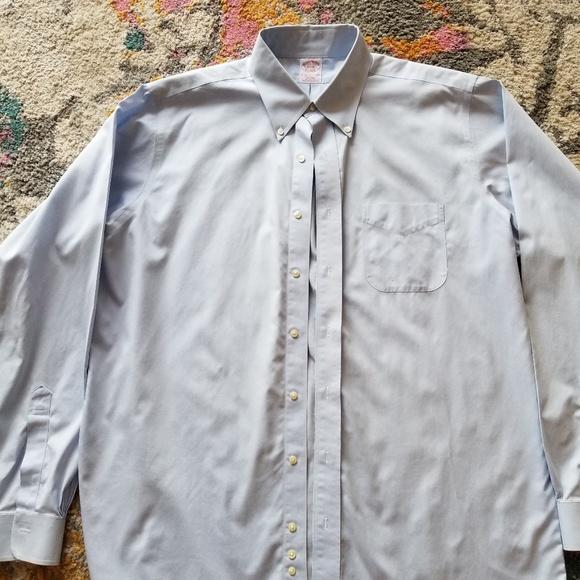 826ca6f0 Brooks Brothers Shirts | Light Blue Button Down 16 12 37 | Poshmark